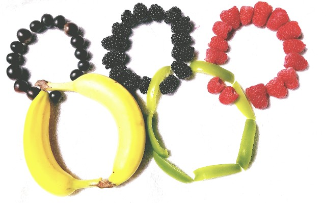 Olympic Fruit Rings